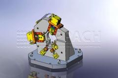 Fräsvorrichtung Schwinge CAD-W